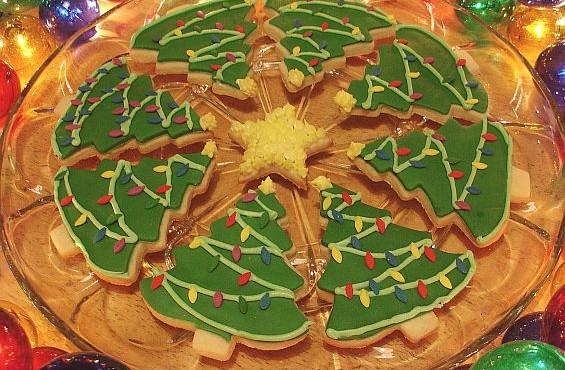 christmastreecookies